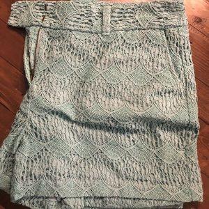 Shorts mint green